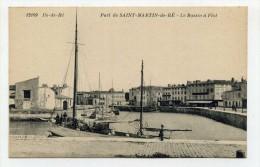 CP , 17 , SAINT-MARTIN-de-RE , Le Bassin à Flot - Saint-Martin-de-Ré
