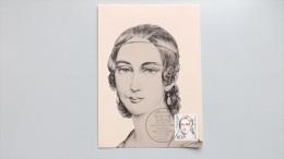Deutschland Berlin 771 Yt 732 Maximumkarte MK/MC, ESST, Clara Schumann (1819-1896), Pianistin, Komponistin - Maximumkarten (MC)