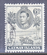 CAYMAN ISLANDS  107a  Perf  11 1/2- 13   (o) - Cayman Islands