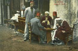 EGYPTE EGYPT LE CAIRE CAIRO - Joueurs De Jaquet Jeu De Société - Kairo