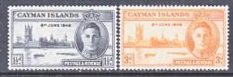 CAYMAN ISLANDS  112-13   * - Cayman Islands
