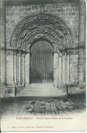 Cp , 79 , PARTHENAY , Portail Notre-Dame De La Couldre - Parthenay