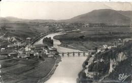 AQUITAINE - 64 - PYRENEES ATLANTIQUES -BEHOBIE ( La Bidassoa Le Pont International - Frontière Franco Espagnol - Béhobie