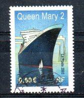 FRANCE. N°3631 Oblitéré De 2003. Queen Mary 2. - Boten