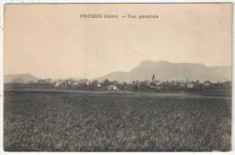 38 - PREBOIS - Vue Générale - France