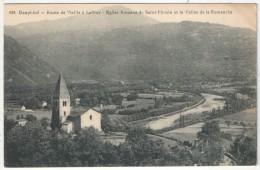 38 - Route De Vizille à Laffrey - Eglise Romane De SAINT-FIRMIN Et La Vallée De La Romanche - PG 688 - Autres Communes