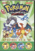 Coffret 4 DVD POKEMON Advanced Battle SAISON 8 Episodes 33 à 48 Neuf - Manga