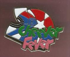 35916-Pin's Casque Moto Ou F1. Cheever Fever... - Motos