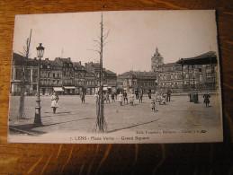 CPA - LENS - Place Verte - Lens