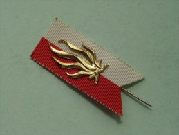 19?? Speld / Lint - Vlam ( Suisse / Schweiz - For Grade, Please See Photo ) !! - Jetons & Médailles