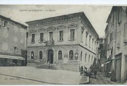 12,Aveyron, SAINT-AFRIQUE, La Mairie,  Animations, Scan Recto-Verso - Saint Affrique
