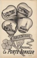 D´ARGENTEUIL Recevez Ce PORTE BONHEUR - Argenteuil