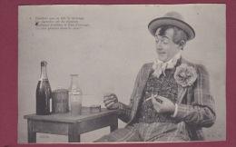 ALCOOL -  260714 - LA BONNE ABSINTHE -  Se Fait Le Mélange... La Joie Pénètre Dans Le Coeur - N° 4 - Cigarette Tabac - Postcards