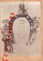 RARE MENU PROMOTION DE MADAGASCAR - 30 AVRIL 1892- 83-85 E - G.  PARLERIGE - Menus