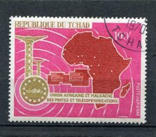 TCHAD  N°  41  (Y&T)  (Poste Aérienne)  (Oblitéré) - Ciad (1960-...)
