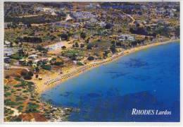 GRECE - THODES LARDOS, Airview, - Greece