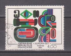 """FRANCE / 1983 / Y&T N° 2263 : """"Aurora-set"""" (Jean Dewasne) - Choisi - Cachet Rond - Oblitérés"""