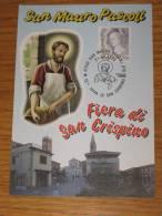 SAN MAURO PASCOLI  21.10.1998 FIERA DI SAN CRISPINO  ANNULLO SPECIALE MARCOFILIA - Forlì