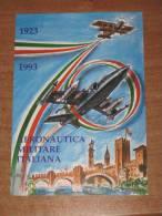 VERONA FIERE 17.04.1993 - 70° ANNIVERSARIO AERONAUTICA MILITARE AEREI - TIMBRO SPECIALE - MARCOFILIA - Verona