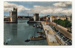 CP , 17 , LA ROCHELLE , Le Port Et Le Quai Wilson - La Rochelle