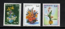 Monaco Timbres De 1982 Neufs** N°1349 Au N°1351 - Monaco