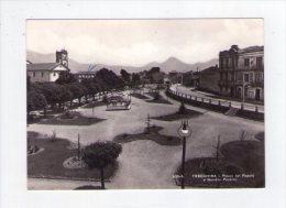 Cartolina/postcard Trecchina (Potenza) Piazza del Popolo e Giardini Pubblici 1959