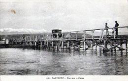 Yougolavie : Macédonia-Sakulevo : Pont Sur La Cerna (1918) - Yougoslavie