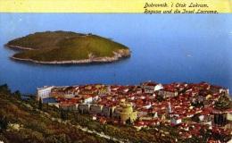 Yougolavie : Dubrovnik - Carte Couleur (1917) - Yougoslavie