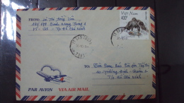Vietnam Viet Nam Cover 1998 With Bird Stamp - Vietnam