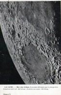 Astronomie : La Lune - Mer Des Crises + Explications (1929) - Astronomie