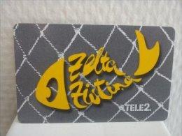 Tele 2 Prepaid Letland Used - Latvia