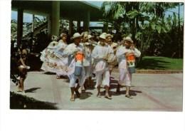 PANAMA TYPICAL DANCERS AR EL PANAMA HOTEL PANAMA R P--voir 2 Scans - Panama