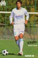 FOOTBALL  ** OLYMPIQUE DE MARSEILLE  ** RENATO CIVELLI  ** SAISON 2008 - Calcio