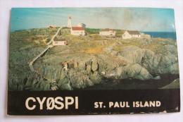 QSL,RADIO AMATEUR-ST.PAUL ISLAND - Radio Amateur
