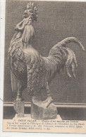 VERDUN Petit Palais Oeuvre D'Art Mutilé Par L'ennemi Coq En Bois De L'enseigne De L'Hotellerie Du Coq Hardy - Verdun