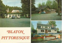 """BLATON PITTORESQUE. Dancing-Bar """"Le Castel"""" - Dancing """"La Buche"""" - Restaurant """"Le Bucheron"""". ...(voir Scan Verso) - Bernissart"""