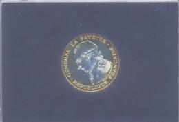 100 Francs 1987 Argent / Silver BU Lafayette Blister Monnaie De Paris - Frankrijk
