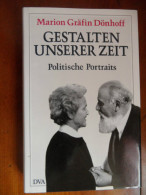 Gestalten Unserer Zeit (Marion Gräfin Dönhoff) éditions DVA De 1990 - Politique & Défense