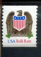 206522248 USA  1993 ** MNH SCOTT 2604 EAGLE SHIELD Low Gloss Gum - United States