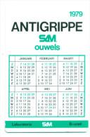 Kleine Kalender 1979 - Antigrippe Laboratoire SAM Brussel - Calendriers