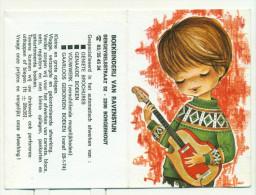 Kleine Kalender 1974 - Boekbinderij Van Ravenstijn Borgerhout - Calendriers