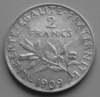 2 francs Semeuse  1909