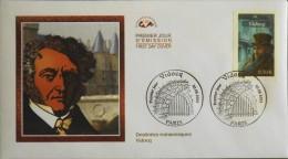 ENVELOPPE 1er JOUR 2003 - Destinées Romanesques Vidocq - Paris Le 30.08.2003 - EN PARFAIT ETAT - - 2000-2009