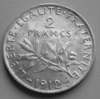 2 francs Semeuse  1912