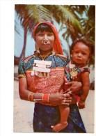 PANAMA---ISLAS DE SAN BLAS---una India Kuna---- Voir 2 Scans - Panama