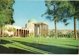 C P S M-C P M----IRAN-----SHIRAZ--------tomb Of Saadi  .-- Voir 2 Scans - Iran