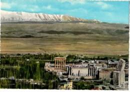 C P S M-C P M--LIBAN--BAALBECK--vue Générale--voir 2 Scans - Lebanon