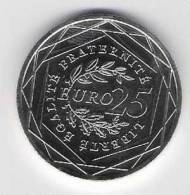 FRANCE  RARE  25€  2009  ARGENT NEUVE - France