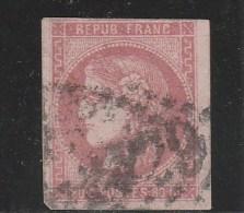 YVERT N° 49a OBLITERE  - COTE = 320 EUROS - - 1870 Emission De Bordeaux