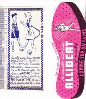 LOT DE 4 BUVARDS DIFFERENTS -THEME CHAUSSURES - Chaussures